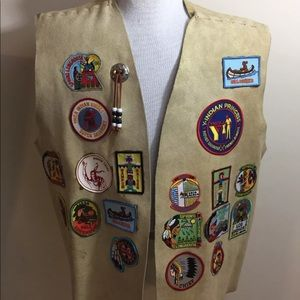 Other - 1996 Vintage YMCA INDIAN GUIDE Chief PRINCESS vest